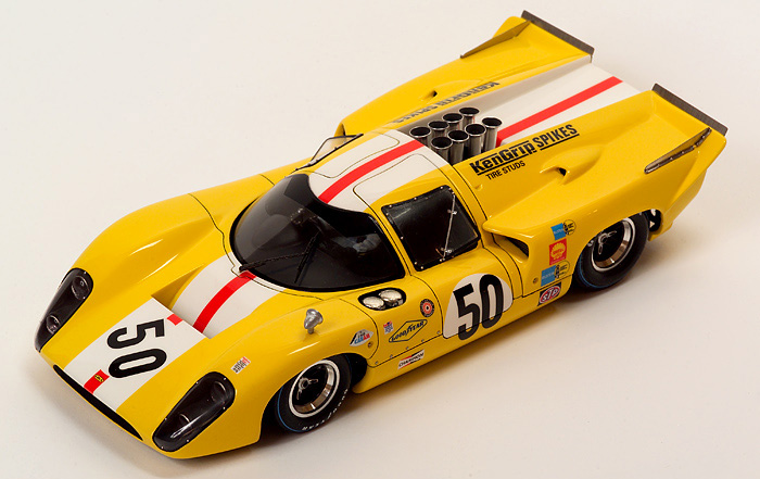 Lola T70 Mkiiib 1970 - Karl Heinz Hornberg  24eme